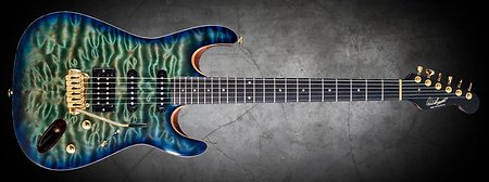 Quilted Maple Electric Guitar Drop Tops. rw1