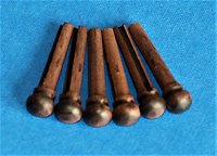 Bridge pins, Strap pins, Pic's, Nuts & Saddles.. bridge pins rosewood